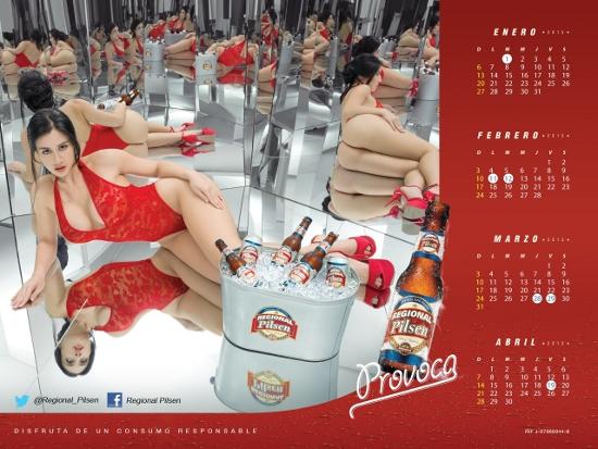 MSC Noticias - Calendario-Enero-Abril-Regional-Pilsen Agencias Com y Pub Estética y Belleza Licores y Bebidas Publicidad The Media Office