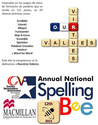 MSC Noticias - Tema-spelling-bee-2013 Marketing