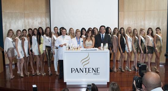 MSC Noticias - Foto-oficial-Pantene-Edicion-Especial-Dorada-Miss-Vzla Agencias Com y Pub Chuky Reina & Asociados Estética y Belleza Negocios Publicidad