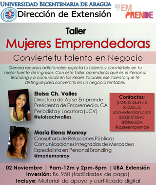 MSC Noticias - FlayerTaller_PersonalBranding Marketing Negocios