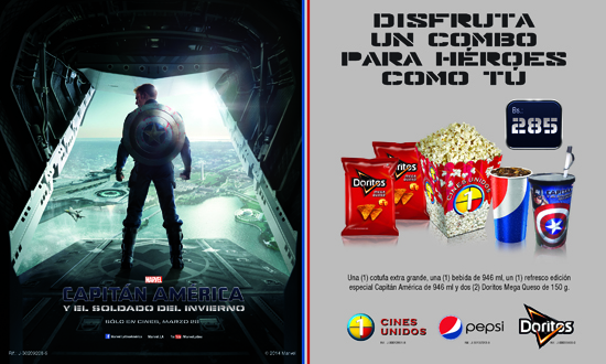MSC Noticias - Capitán-América Agencias Com y Pub Cine Diversión Negocios Pizzolante Publicidad
