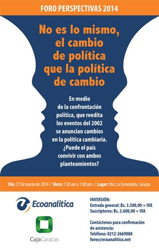 MSC Noticias - FORO-PERSPECTIVAS-2014-caja-caracas-1 Agencias Com y Pub Negocios Publicidad TIPS Imagen y Com