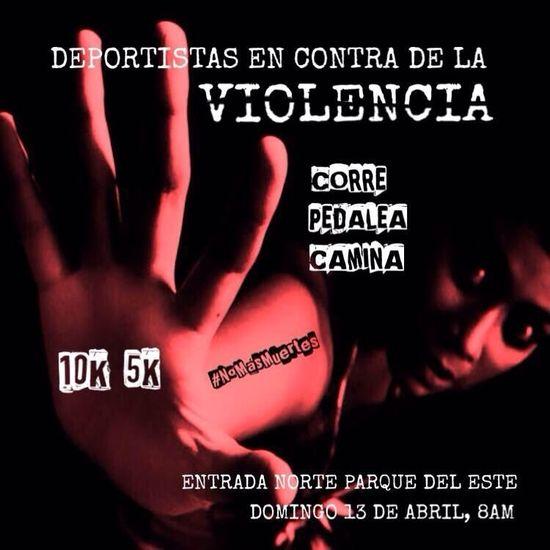 MSC Noticias - Deportistas-en-Contra-de-la-Violencia-foto Agencias Com y Pub Deportes Maratones Publicidad