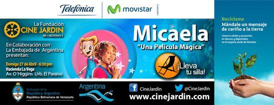 MSC Noticias - Volante_Cinejardín_Díadelatierra Agencias Com y Pub Cine CINE JARDIN Diversión Publicidad