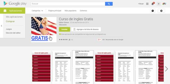 MSC Noticias - Curso-de-Ingles-Gratis-Aplicaciones-Android-en-Google-Play Agencias Com y Pub Marketing Negocios Tecnología