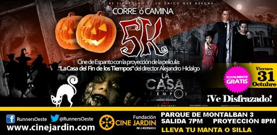 MSC Noticias - Halloween-Runners2 Agencias Com y Pub CINE JARDIN Deportes Maratones Marketing RSE Salud