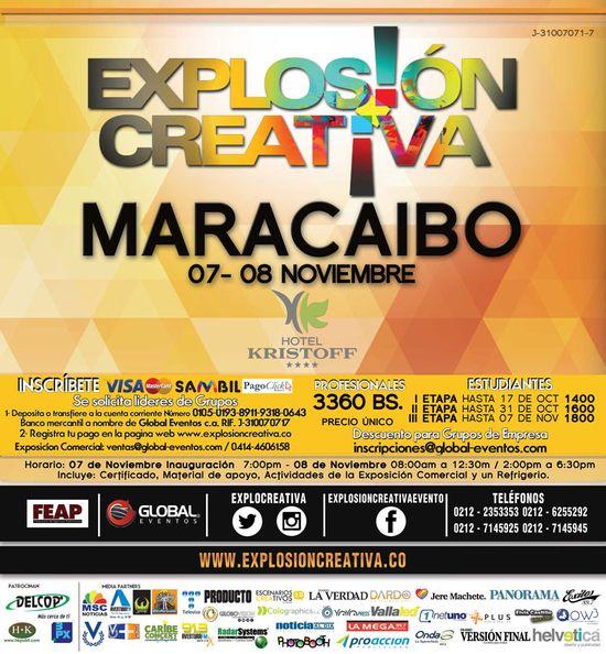 MSC Noticias - explosion-creativa-maracaibo Agencias Com y Pub Global Eventos Publicidad
