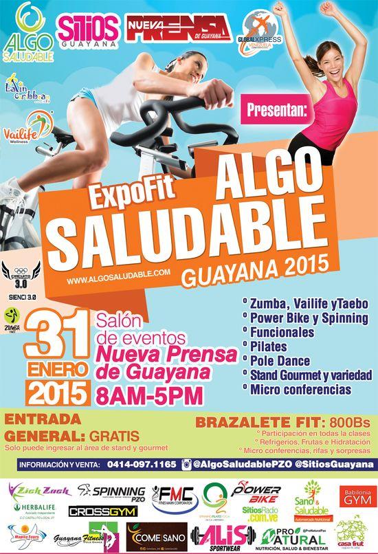 Este 31 de enero en el sal n de eventos de nueva prensa de for Salon de fitness