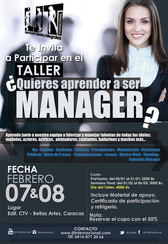 MSC Noticias - Taller-Manager Agencias Com y Pub Cursos y Seminarios Farándula Negocios Publicidad