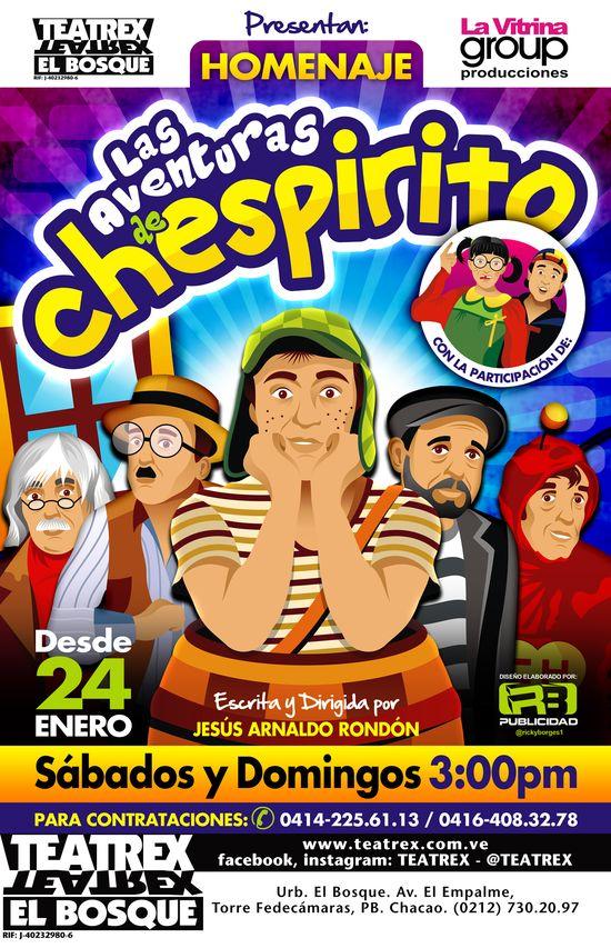 MSC Noticias - VOLANTE-CHESPIRITO-10-X-15.5-CMS Agencias Com y Pub Alamo Group Diversión Publicidad Teatro
