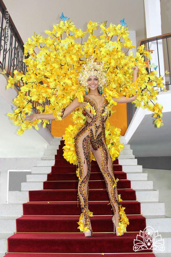 MSC Noticias - migbelis-castellanos-traje-típico-1 Agencias Com y Pub Estética y Belleza Farándula Org Miss Venezuela Publicidad