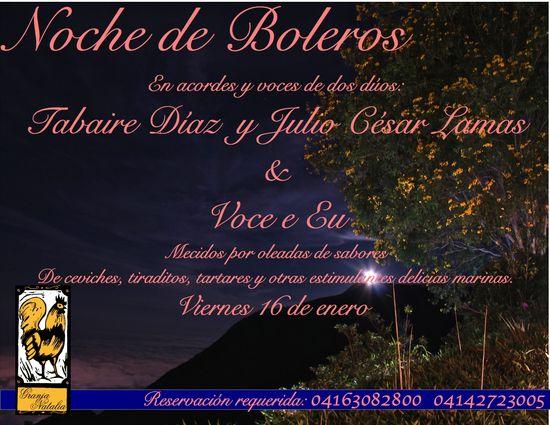 MSC Noticias - noche-de-boleros-1 Agencias Com y Pub Musica Publicidad