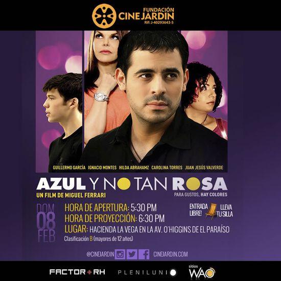 MSC Noticias - Azul-y-no-tan-Rosa-Hacienda-La-Vega Agencias Com y Pub Cine CINE JARDIN Diversión Publicidad