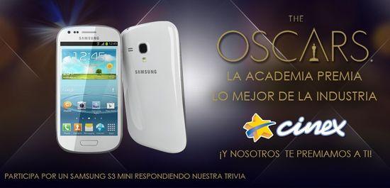 MSC Noticias - Concurso_Cinex_Oscar1 Agencias Com y Pub Cine Publicidad Tecnología Telefonia