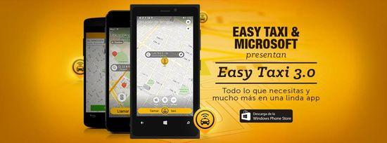 MSC Noticias - Easy-Taxi-3.0 Agencias Com y Pub Aplicaciones Comstat Rowland Negocios Publicidad Tecnología Telefonia