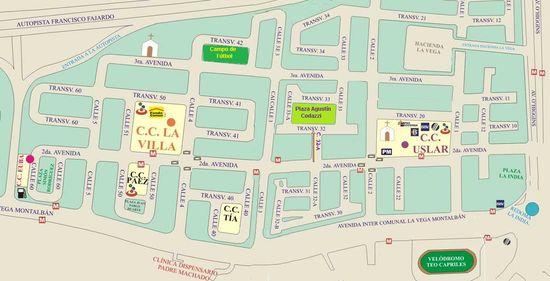 MSC Noticias - Mapa-Montalbán-PasaLaHoja Agencias Com y Pub CINE JARDIN Negocios Publicidad