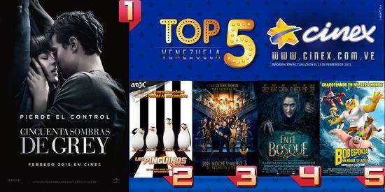 MSC Noticias - Top5-23febrero2015 Agencias Com y Pub Cine Diversión Publicidad
