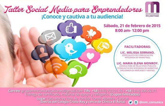 MSC Noticias - taller-21-feb Agencias Com y Pub Cursos y Seminarios Negocios Publicidad