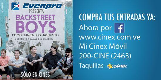 MSC Noticias - BackstreetboysComoNuncaLosHasVisto Agencias Com y Pub Cine Diversión Musica Publicidad