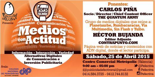 MSC Noticias - II-foro-tapete-tw-fb-peq- Agencias Com y Pub Cursos y Seminarios Negocios Publicidad