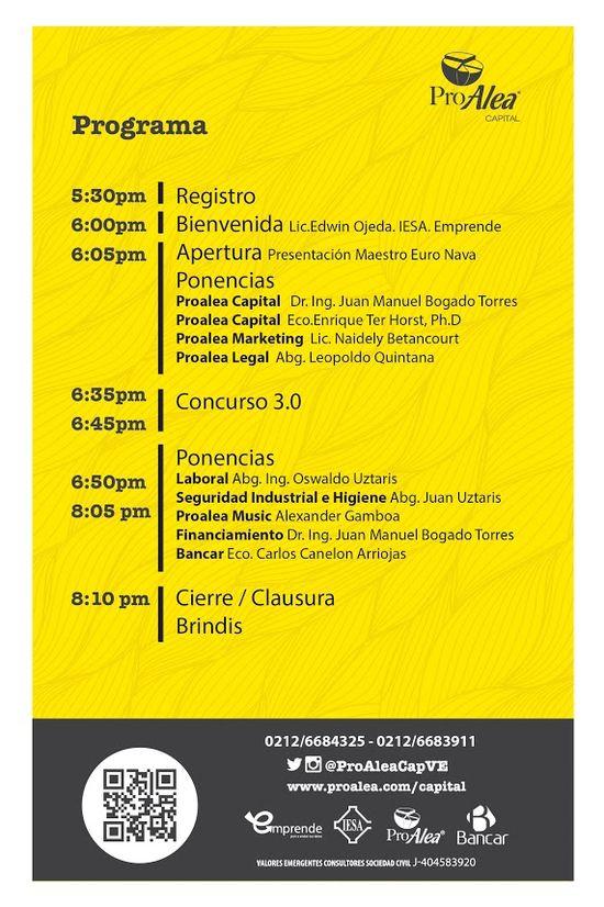 MSC Noticias - Programa-Evento-19 Agencias Com y Pub Cursos y Seminarios Negocios Publicidad