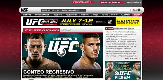 MSC Noticias - Sitio-Web-Oficial-del-Ultimate-Fighting-Championship®-UFC- Agencias Com y Pub Negocios Publicidad