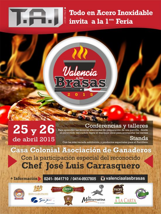 MSC Noticias - afiche-valencia-en-las-brasas-30x40 Agencias Com y Pub Comstat Rowland Gastronomía Publicidad