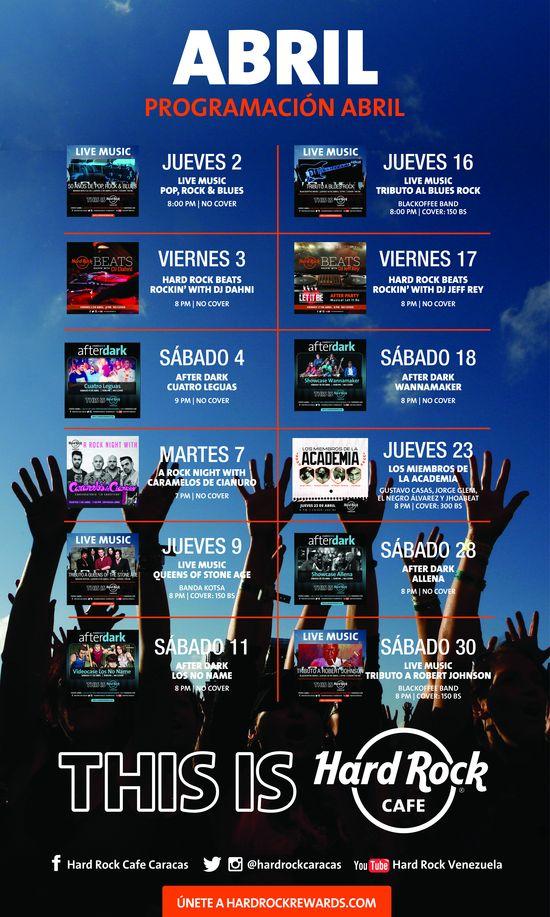 MSC Noticias - hrc_programacion_abril Agencias Com y Pub Diversión Musica Negocios Publicidad