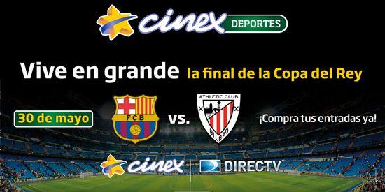MSC Noticias - COPA-DEL-REY-CINEX Agencias Com y Pub Cine Cinex Com Deportes Diversión Futbol Publicidad