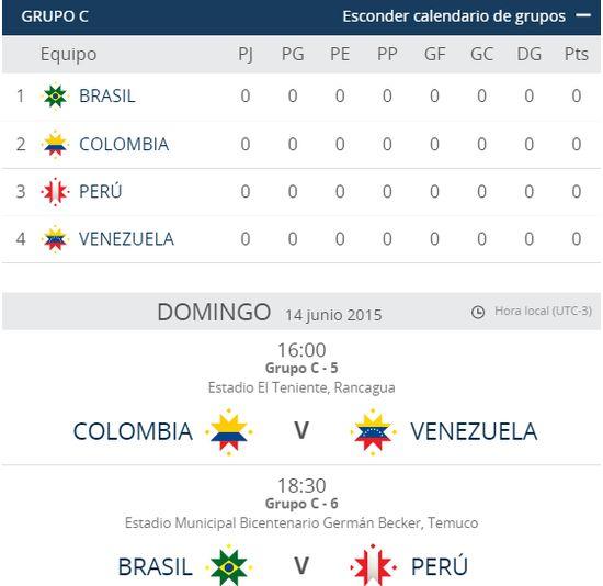 MSC Noticias - Calendario-Copa-America-2015-1 Agencias Com y Pub Deportes Futbol Publicidad