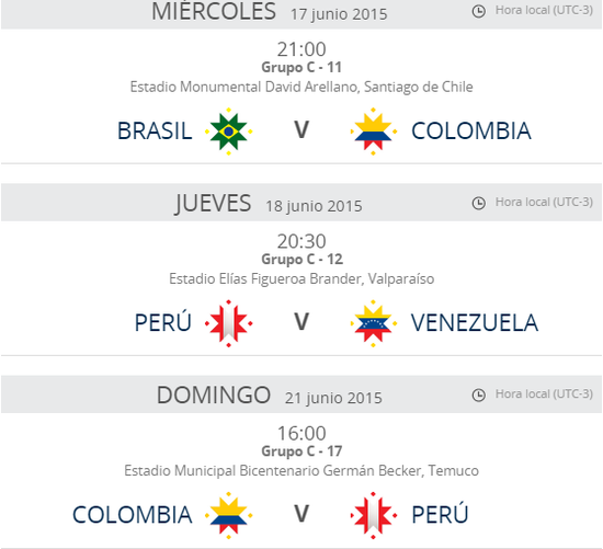 MSC Noticias - Calendario-Copa-America-2015-2 Agencias Com y Pub Deportes Futbol Publicidad