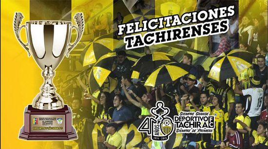 MSC Noticias - Deportivo-Táchira-FC-DvoTachira-Twitter Agencias Com y Pub Deportes FC Dvto La Guaira Futbol Publicidad