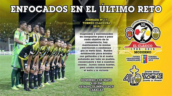 MSC Noticias - ENFOCADOS-E-EL-CLASICO Agencias Com y Pub Deportes FC Dvto La Guaira Futbol Publicidad