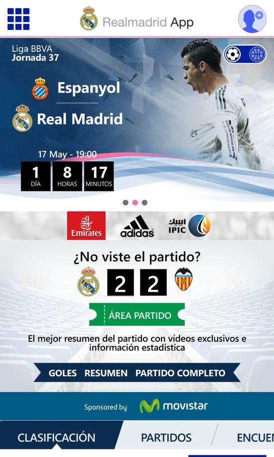 MSC Noticias - Home-Real-Madrid-App Agencias Com y Pub Aplicaciones Negocios Publicidad Tecnología