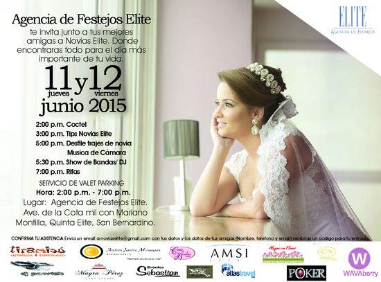 MSC Noticias - INVITACIÓN-EVENTO-NOVIAS-ELITE Agencias Com y Pub Estética y Belleza Moda Negocios Publicidad