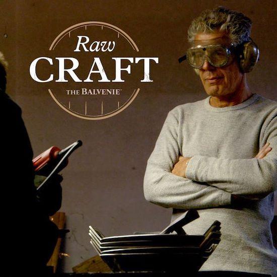 MSC Noticias - The-Balvenie-Raw-Craft-Anthony-Bourdain-01 Agencias Com y Pub Alianzas Grupo Open Mind Licores y Bebidas Negocios Publicidad