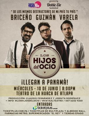 MSC Noticias - loshijos_flyer Agencias Com y Pub Diversión Publicidad Teatro