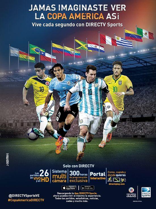 MSC Noticias - COPA-AMERICA Agencias Com y Pub Deportes Directv Com Diversión Futbol Publicidad