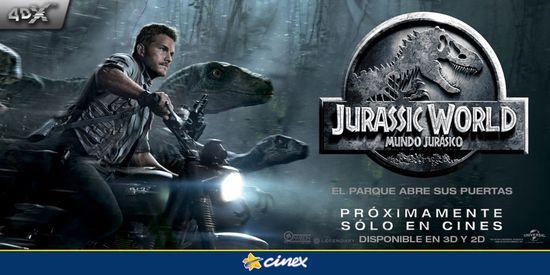 MSC Noticias - Cinex-Jurassic-World Agencias Com y Pub Cinex Com Publicidad