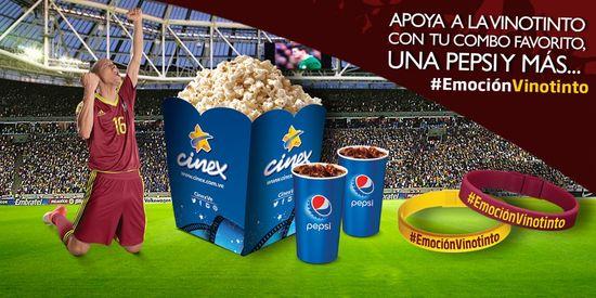 MSC Noticias - EMOCIONVINOTINTO-EN-CINEX Agencias Com y Pub Cine Cinex Com Deportes Diversión Futbol Publicidad