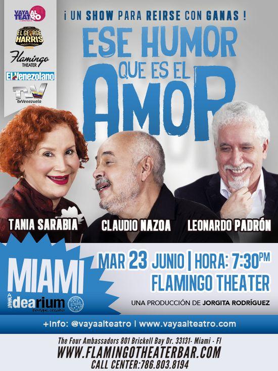 MSC Noticias - Ese-humor-Miami Agencias Com y Pub Diversión Publicidad Teatro