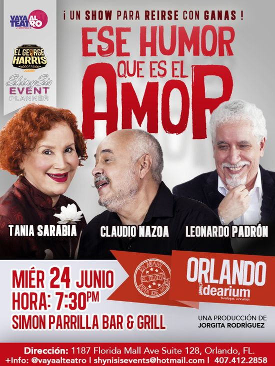 MSC Noticias - Ese-humor-Orlando Agencias Com y Pub Diversión Publicidad Teatro