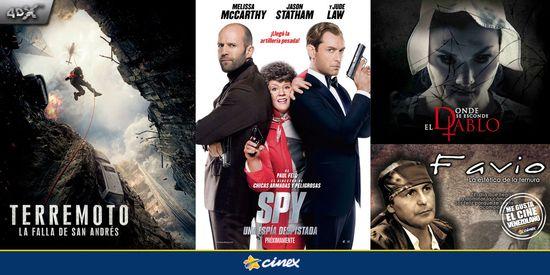 MSC Noticias - Estrenos5_06CINEX Agencias Com y Pub Cine Cinex Com Diversión Publicidad