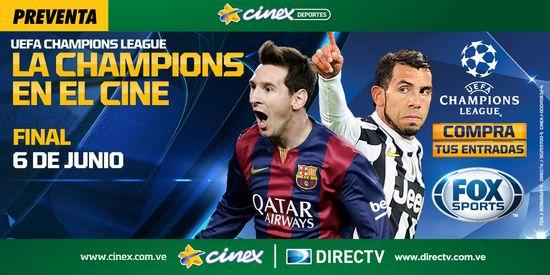 MSC Noticias - Final-de-la-Champions-en-Cinex Agencias Com y Pub Cine Cinex Com Deportes Diversión Futbol Publicidad
