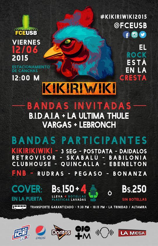 MSC Noticias - Flyer-Kikiriwiki Agencias Com y Pub Musica Publicidad