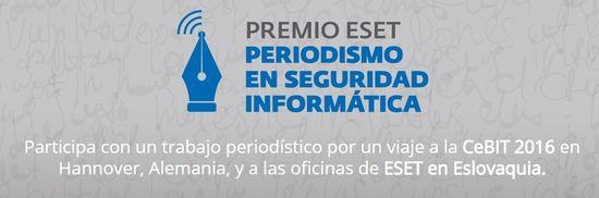 MSC Noticias - PREMIO-ESET-AL-PERIODISMO-EN-SEGURIDAD-INFORMÁTICA Agencias Com y Pub Comstat Rowland Cursos y Seminarios Negocios Publicidad Seguridad Tecnología