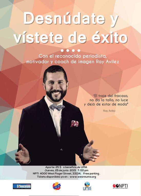 MSC Noticias - flyer-taller-vistete-de-exito-ray-avilez Agencias Com y Pub Cursos y Seminarios Negocios Publicidad
