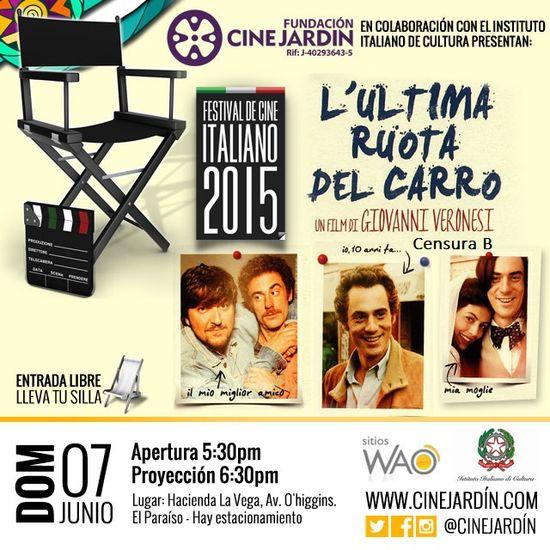 MSC Noticias - ruedainstagram-con-clasificacion Agencias Com y Pub Cine CINE JARDIN Diversión Publicidad