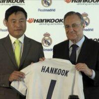 Hankook Tire y Real Madrid firmaron oficialmente hoy su contrato de sociedad global