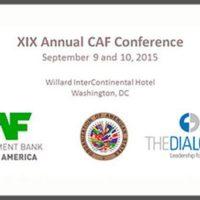 XX Conferencia Anual CAF: Biden llama a que EE.UU. siga comprometido con América Latina